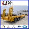 Axle 3 спецификация трейлера кровати 60 тонн низкая