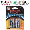 1.5V de Aluminiumfolie Alkaline Battery van C Size (LR14)