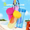 450ml Colorful Transparent Plastic Sports Water Bottle (SLSB03)