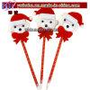 Pena de esfera da forma de Papai Noel do presente do negócio da decoração do Natal (CH8047)