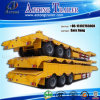 3 Radachse Multi Fuctions Lowbed Semi Trailer mit Side Wall
