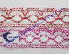 Lacet de crochet de coton de mode pour le vêtement