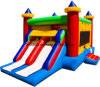 Lane duplo Inflatable Bouncer com o Slide combinado (BMBC301)