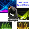10r Beam Spot Wash Moving Head com Adjustable Focus Glasses