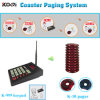433.92MHz Food Court Digital Coaster Paging System para Kitchen y Guest Use