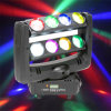 8*10W CREE RGBW Moving Head LED Spider Beam Light