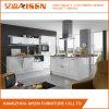 Gabinete de cozinha lustroso elevado da laca