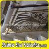 Lujo Grabado Barandilla de aluminio para escaleras