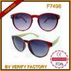 F7498 de In het groot Recentste Zonnebril Van uitstekende kwaliteit van de Manier van de Kleur van de Douane
