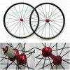 完全なカーボン道のバイク24mm管状カーボン車輪(YS-CC24T)