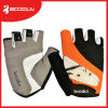 Guanti mezzi della bici della barretta della maglia respirabile su ordinazione per il sollevamento di peso