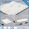 Riscaldatore di ceramica flessibile del rilievo di trattamento industriale del riscaldatore