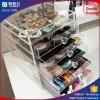Organisateur acrylique de renivellement de tiroir chaud du modèle 2018