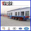 Aanhangwagen van de Vrachtwagen Lowbed van de zware Lading de Verlengbare