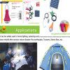 Système d'alimentation solaire, ampoule solaire de Protable, lampe de 3W LED