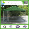jaula galvanizada del animal doméstico del metal de la INMERSIÓN caliente del 1.8m