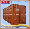20FT open Zij Standaard Verschepende Container
