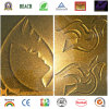 Bobina cubierta color de aluminio de oro metálico de PVDF Sivler