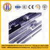 GangZahnstangentrieb-Zahnstange hergestellt vom thermischen raffinierten Stahl für Aufbau-Hebevorrichtung