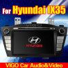 navigation du lecteur DVD GPS de voiture de 7 '' HD avec le Pouvoir-Autobus pour Hyundai IX35/nouveau Tucson (VHX7005)
