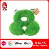 Het groene Speelgoed van het Hoofdkussen van de Hals van de Baby van het Hoofdkussen van de Kikker Dierlijke