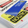 Concevoir le panneau polychrome de plastique vinyle d'impression de poids léger