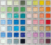 Mosaico di cristallo - serie pura di colore (L H)