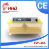 소형 자동적인 닭은 Eggs 부화기 부화장 기계 (EW-48)를