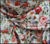 tafetán de nylon de la tela escocesa de la tela del tafetán de la impresión floral de 210t Ripstop