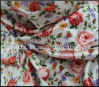 tafetá floral de Fabric Plaid do tafetá de 210t Ripstop Nylon Print