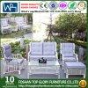 庭の屋外の家具のソファーの一定のPEの藤のソファー(TG-014)
