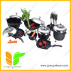 Cookware Non-Stick de alumínio fundido 20 partes ajustado (UK-ACT20)