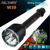 Linterna subacuática Torch+2X18650+Charger del buceo con escafandra del 100m 3000lm Xm-L T6 LED