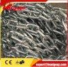 Cadena galvanizada DIN766 hierro corto Enlace