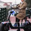 motociclo elettrico 800With1000With1500W con l'intervallo dell'azionamento lungo di 80km