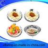 Qualitäts-Edelstahl-Frucht-Platte der Vielzahl-Formen