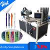 Máquina de impressão giratória da tela de seda do carrossel pneumático automático para a maquinaria de fatura mais leve
