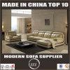 2017年の余暇の居間のイタリアの革ソファーの家具