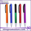 Stylo bille en plastique de promotion avec l'impression R4260e de logo de compagnie