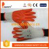 El algodón 2017 de Ddsafety hizo punto con los guantes anaranjados del látex
