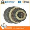 Cara de embrague material del disco de la fricción media de la calidad