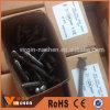 Pregos de aço preto Parafusos de madeira lisos Parafuso de cabeça escaldado