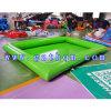El cuadrado gigante grande grande al aire libre colorido modificado para requisitos particulares embroma la piscina inflable de los adultos del niño