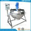 Bouilloire revêtue de chauffage électrique d'acier inoxydable pour la transformation des produits alimentaires