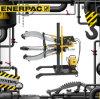 Original hidráulica Enerpac de los tiradores del apretón
