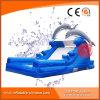 Коммерчески раздувное скольжение воды дельфина для малышей T11-204