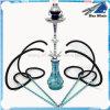 4 slangen 22  Blauwe Waterpijp Shisha