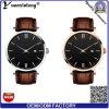 Relojes impermeables de lujo de la voga del reloj del cuarzo de la buena calidad del Mens del reloj del cuero genuino de la manera Yxl-133