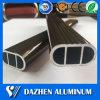 Het aangepaste Ovale het Hangen van de Garderobe Profiel van de Uitdrijving van het Aluminium van het Aluminium van de Buis