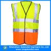 Veste reflexiva da segurança do tráfego feito sob encomenda do desgaste da segurança do Workwear de Cehap